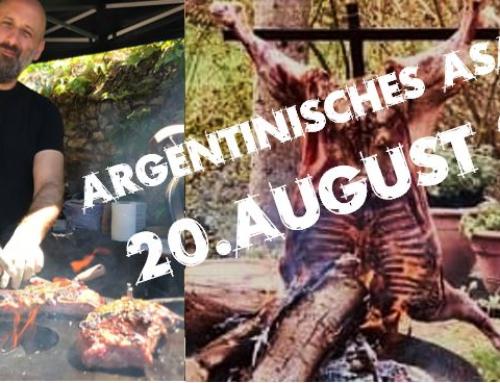 Nächstes Asado: 20. August 21